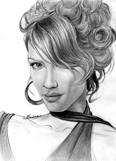 Jessica Alba por Sabina